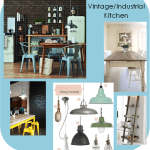 Vintage/Industrial Kitchen Ideas