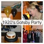 1920's Gatsby Birthday Party