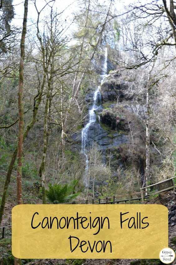 A Review of Canonteign Falls in Devon