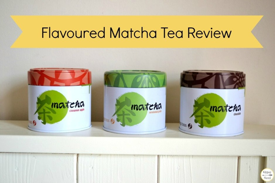 Flavoured matcha teas by Adagio Teas