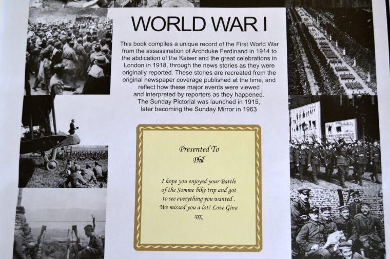 Personalised World War I Centenary Book