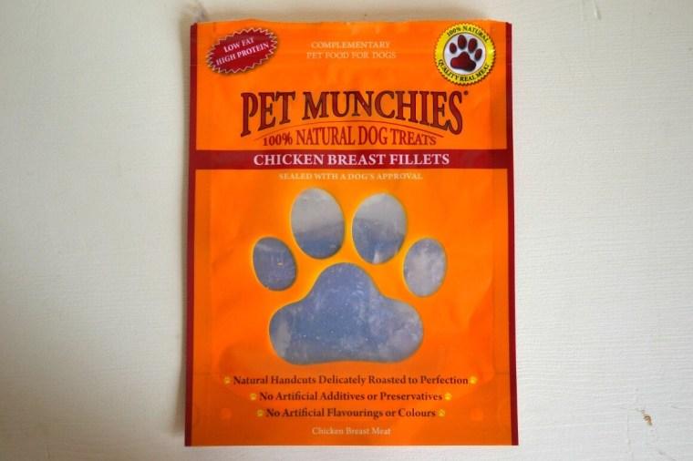 Pet munchies natural dog treats