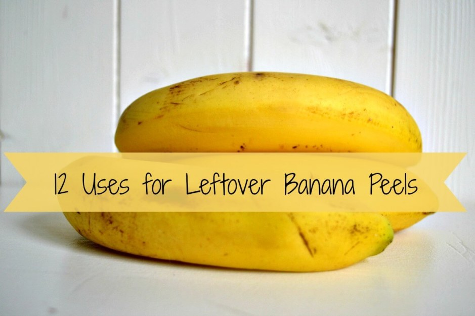 12 Uses for Leftover Banana Peels