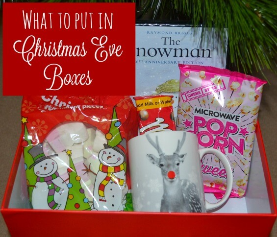 What to put in Christmas Eve boxes