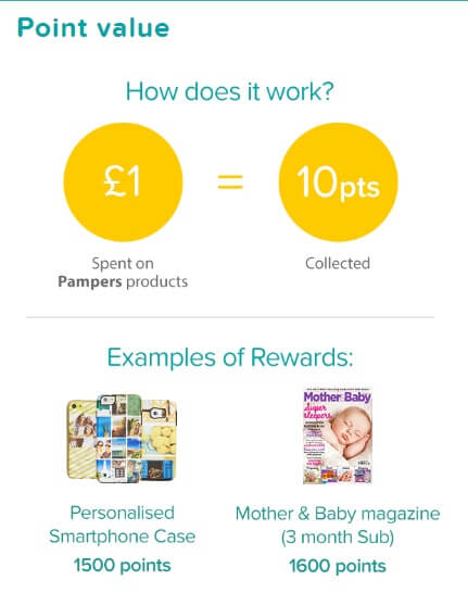 Pampers Club points