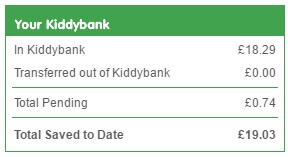 Kidstart earn free cash back