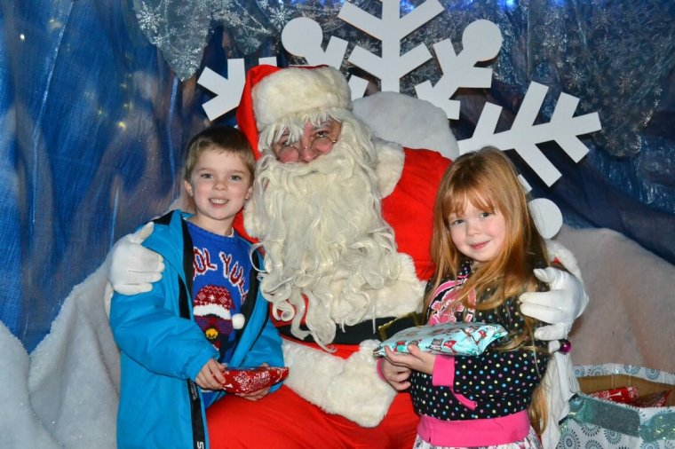 Visit Santa at Dartington Crystal