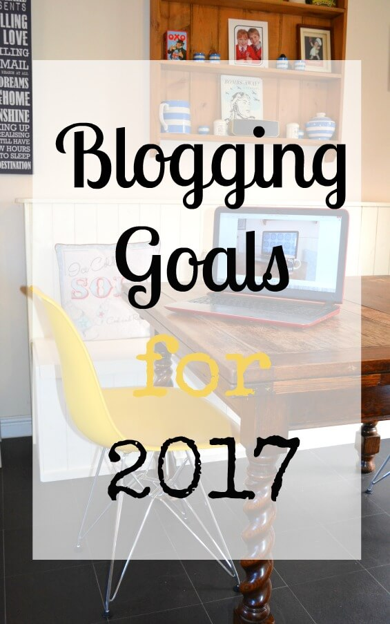 My blogging goals for 2017