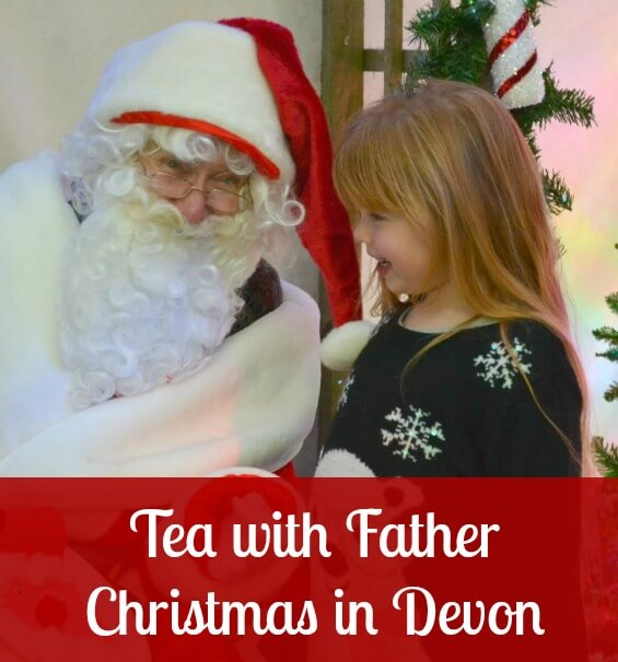Tea with Father Christmas in Devon