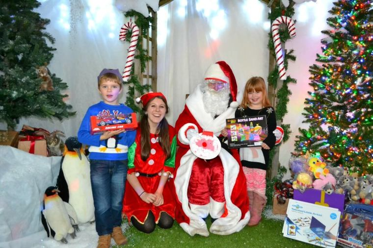 Tea with Santa at Jack's Patch in Teignmouth