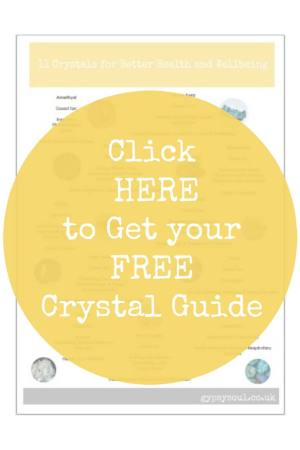 FREE crystal guide. Get yours now!