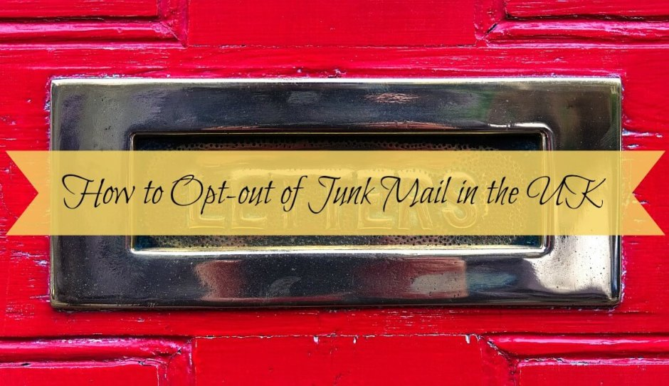 How to Opt-out of Junk Mail in the UK