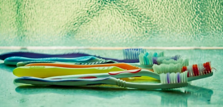 toothbrush waste