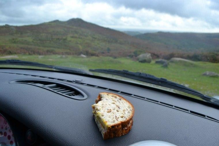 Picnic on Dartmoor