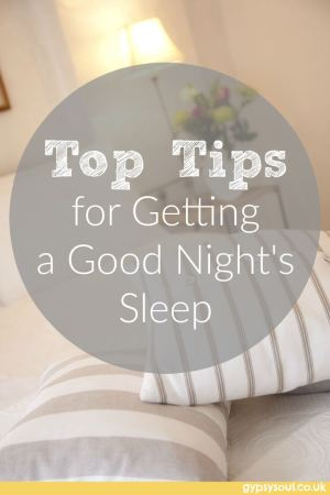 Top tips for getting a good night's sleep
