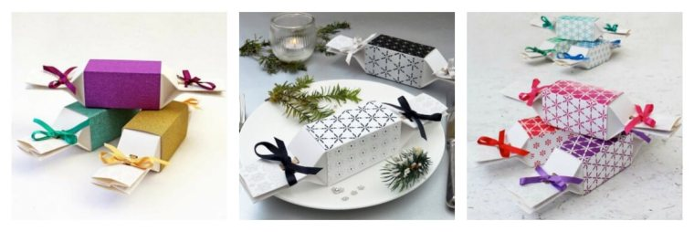 Reusbale Christmas crackers design