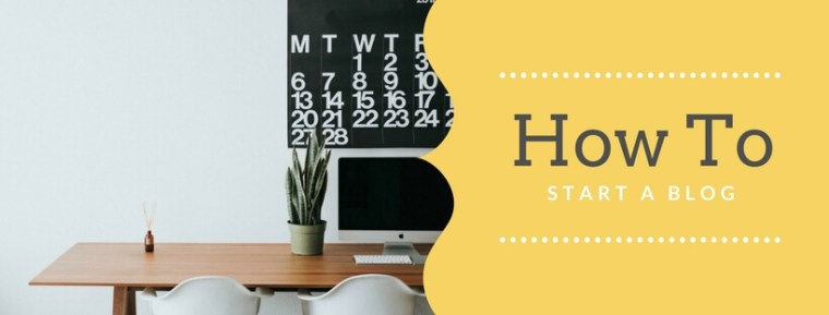 How to start a blog tips & tricks