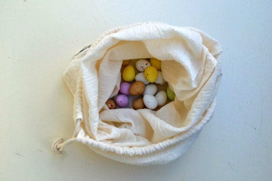 Zero Waste Easter Chocolate mini eggs
