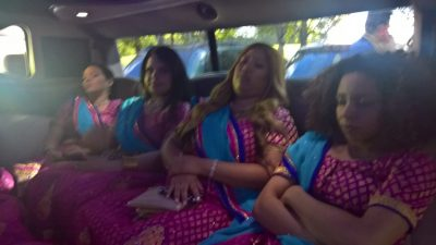 Bridesmaids Sleeping
