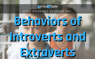 154: Behaviors of Introverts and Extroverts