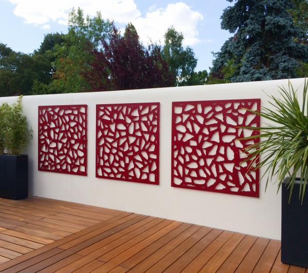 panneaux decoratifs treillis par