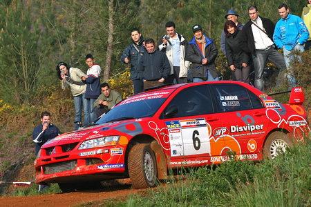 Amador Vidal - Rally de Orense de Tierra 2007