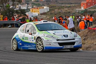 Jhonatan Perez - Rally Islas Canarias 2012