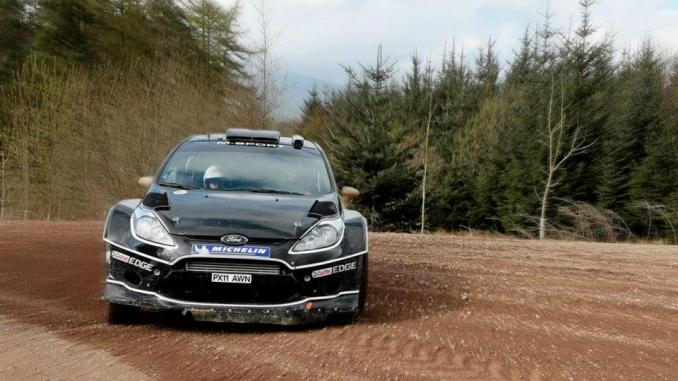 Dani Sordo Test Ford Fiesta wrc 2012 2
