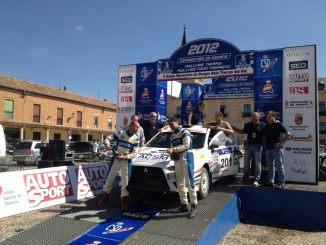Xevi Pons en el Rallye Tierras del Cid 2012