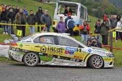 Alberto Meira 3º en el Rali de Cantabria 2013