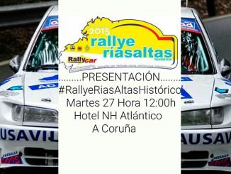RallyRiasAltas Presentacion Cartel