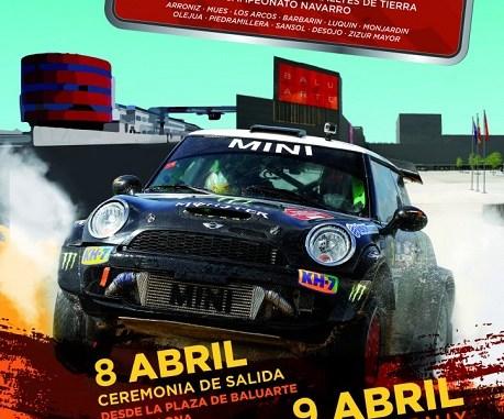 CIrcuito Navarra Rally cartel