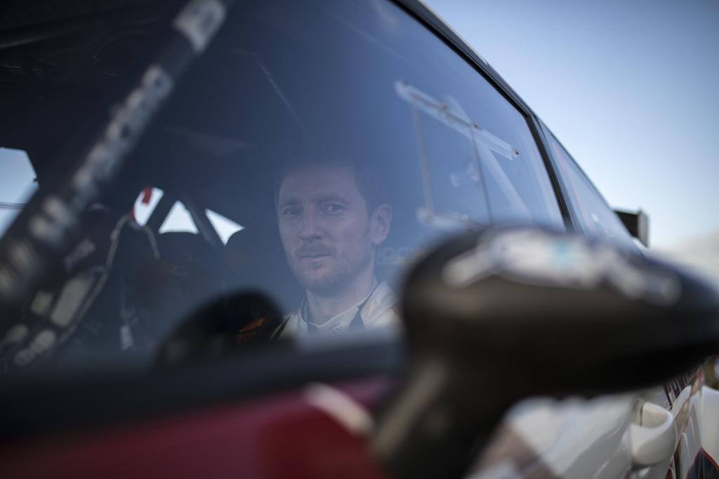 Alexey Lukyanuk, en el Rally Comarca da Ulloa con un Swift N5 de ARVidal Racing