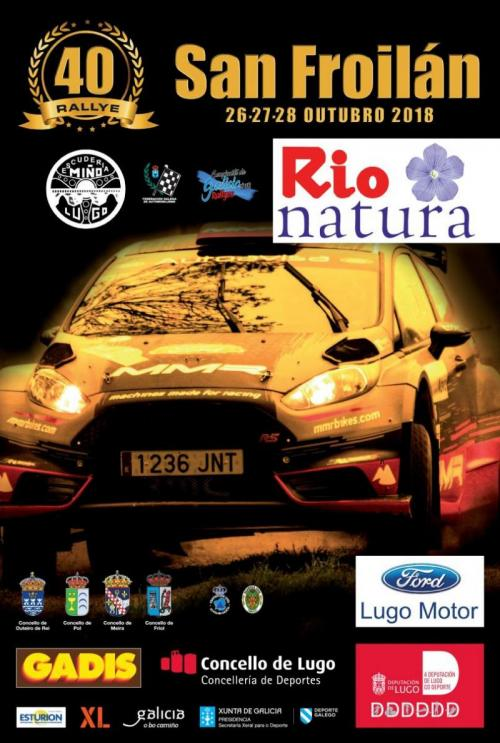 Cartel Rally San Froilan 2018