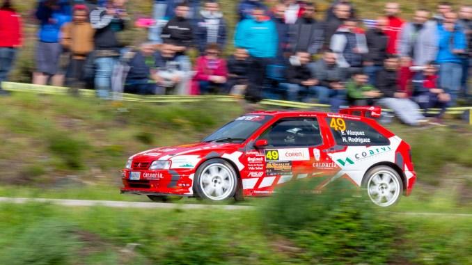 Emilio Vazquez Ganador Del Trofeo Estanislao Reverter Del Rally De