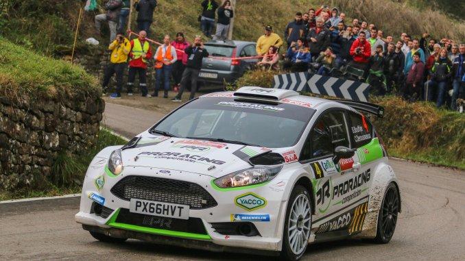 Bryan Bouffier con Proracing en el Rally Santander 2018