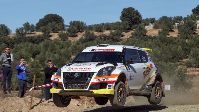 Javier Pardo en el Rally de Granada 2018