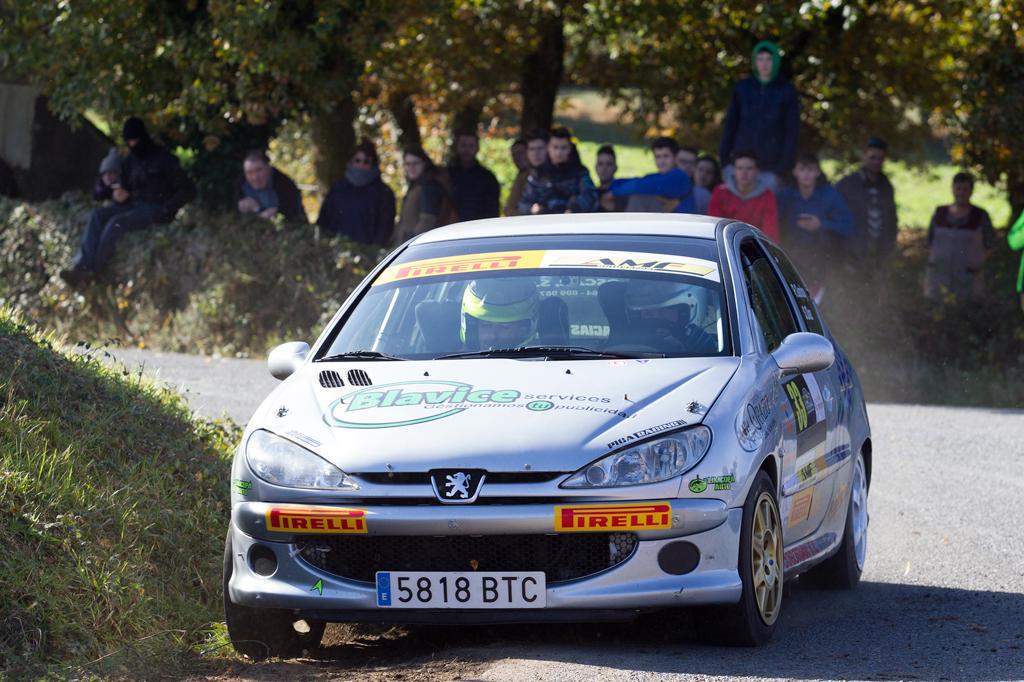 Trofeo Pirelli AMF Motorsport en el Rally Comarca da Ulloa 2018: Victoria de Rubén López, título para Gandoy