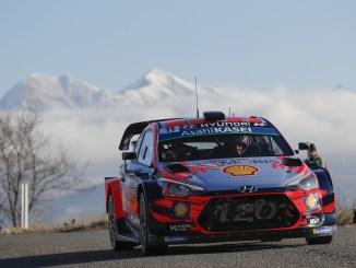 Neuville Rally Montecarlo 2019 Dia 1