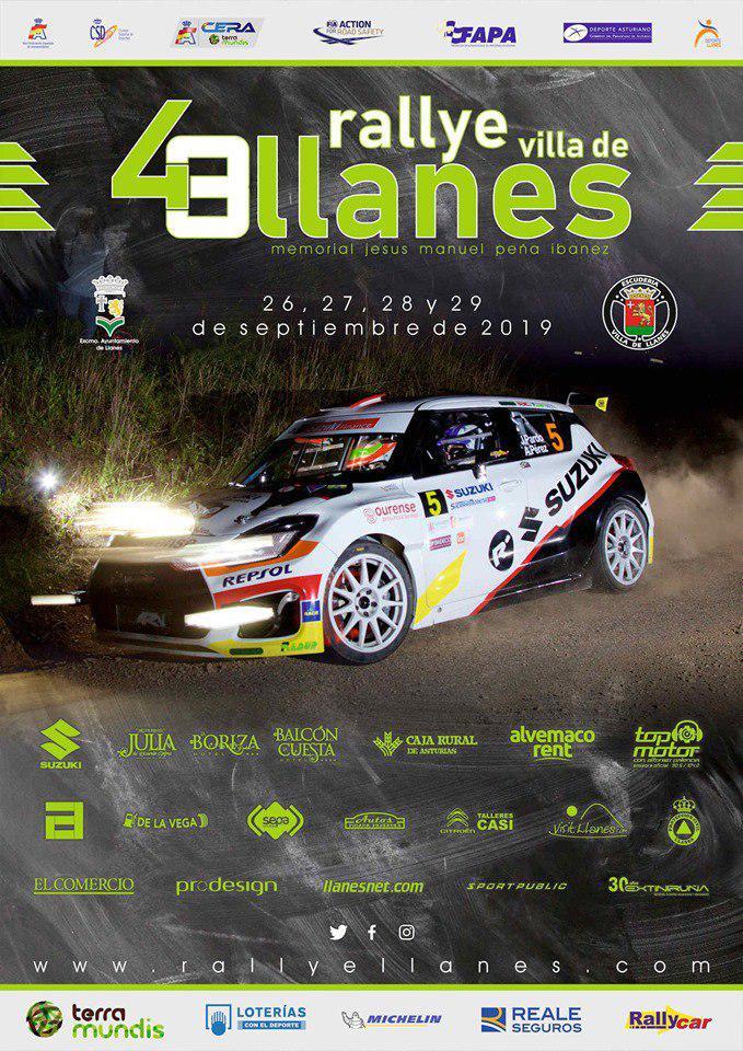 CERA: 48º Rallye Villa de Llanes - Memorial Jesús Manuel Peña Ibáñez [26-29 Septiembre] Cartel-Rally-de-Llanes-2019