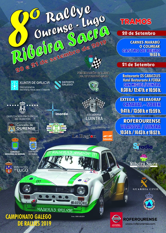 Campeonatos Regionales 2019: Información y novedades - Página 20 Cartel-Rally-de-Ourense-Lugo-Ribeira-Sacra-2019