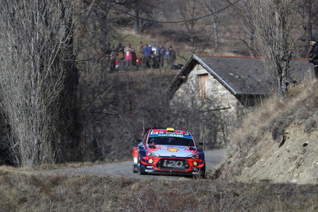 Mikkelsen Rally Montecarlo 2019 Dia 1
