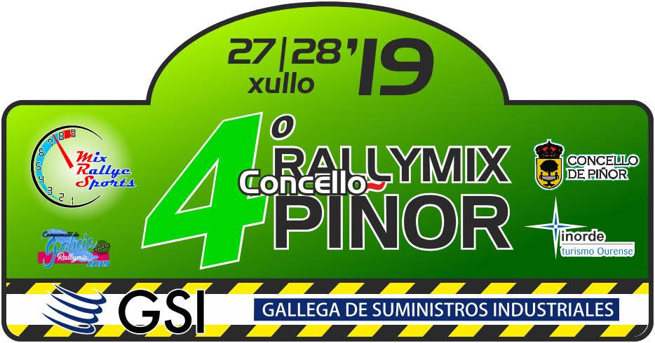 Placa Rallymix Piñor 2019