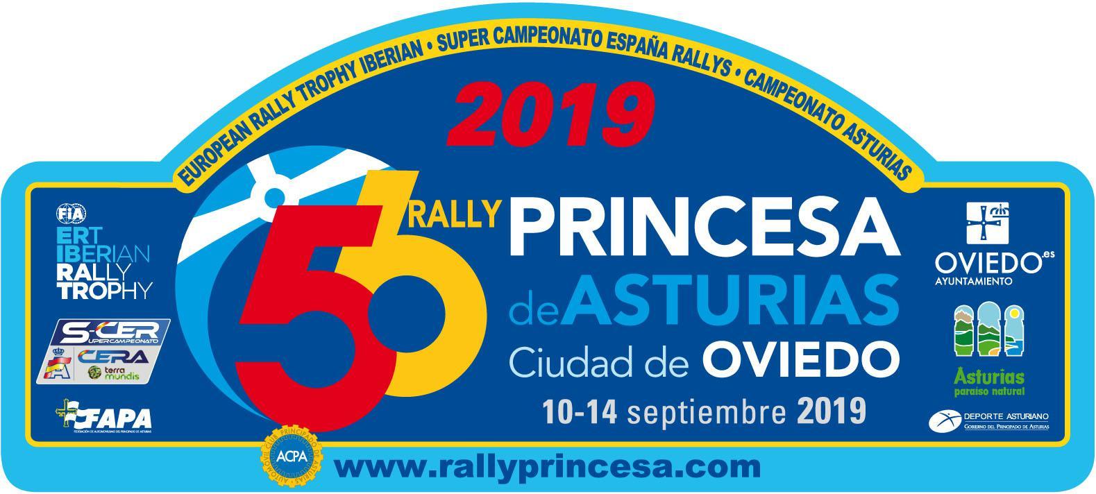 placa 56 rallye princesa de asturias 2019