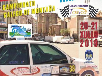 Cartel Subida a Pontevedra Almofrei 2019