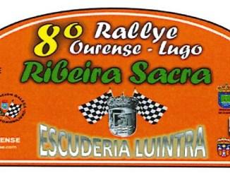 Placa Rally Ribeira Sacra 2019
