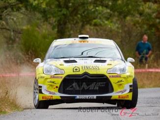 Alberto Meira en el Rally Ribeira Sacra 2019