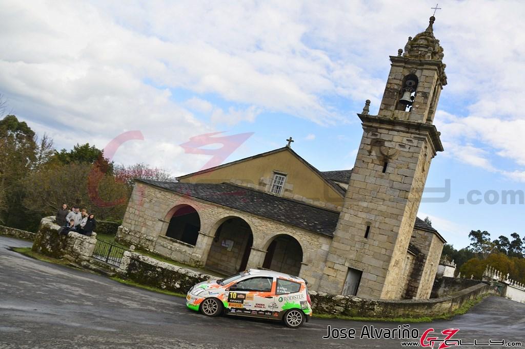 David Rivas en el Rally Mariña Lucense 2019