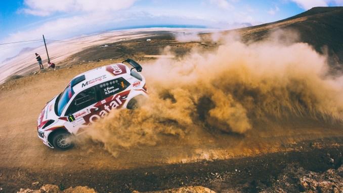 Pons en el Rally de Lanzarote 2019