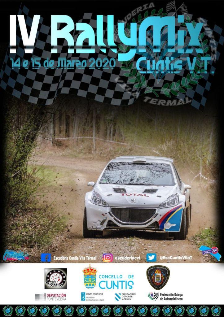 Cartel Rallymix de Cuntis 2020